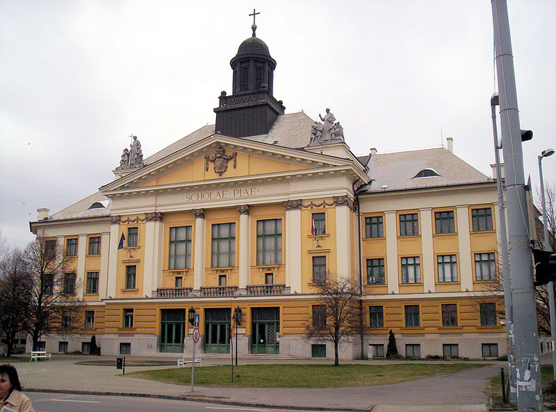 Image: Piarist Secondary School in Kecskemét, Hungary