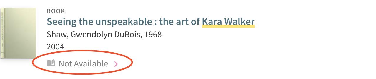 Kara Walker Not available text