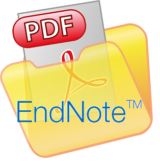 image of .pdf in an EndNote folder