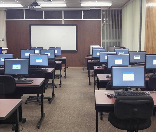 Library Instruction (BI) classroom