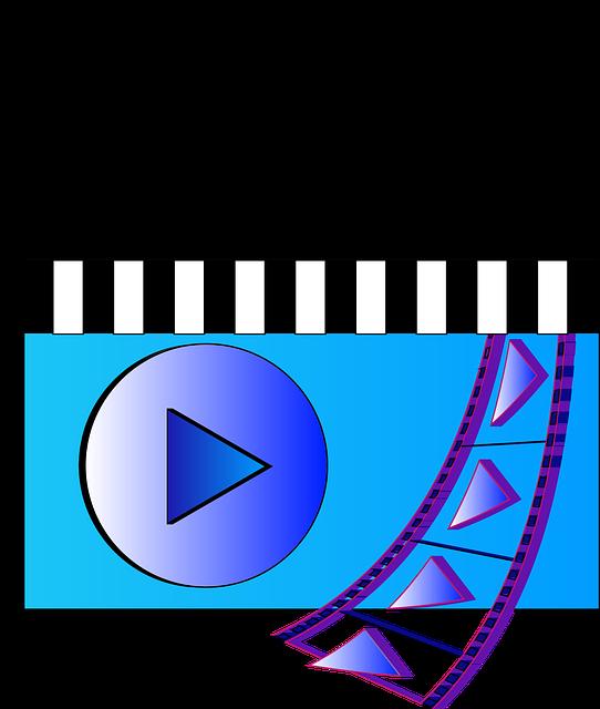 decorative film and video icon