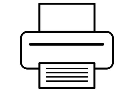 icon: photocopies and scanned copies
