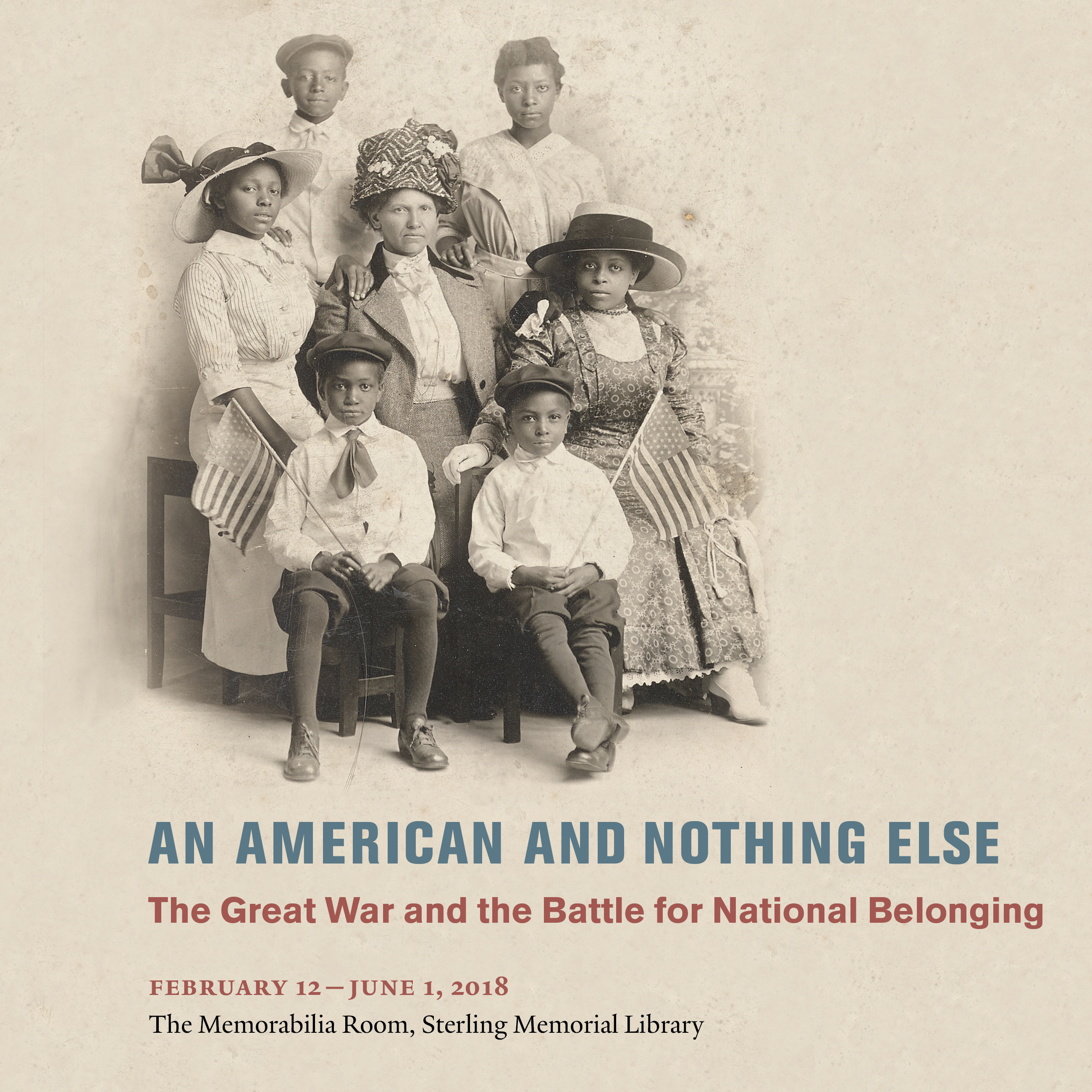 An American and Nothing Else publicity image