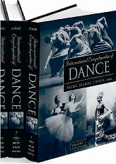 Cover of the International Encyclopedia of Dance