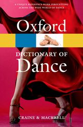 Cover of the Oxford Dictionary of Dance