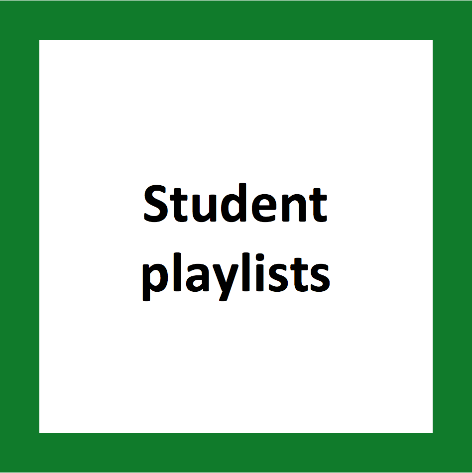 student playlists