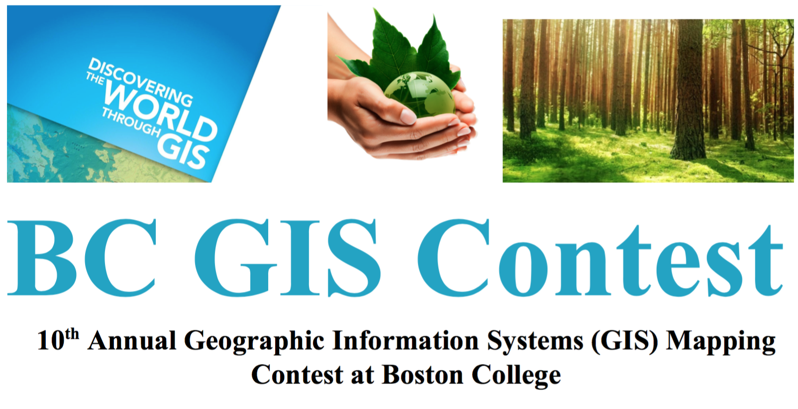 GIS Day Contest flyer