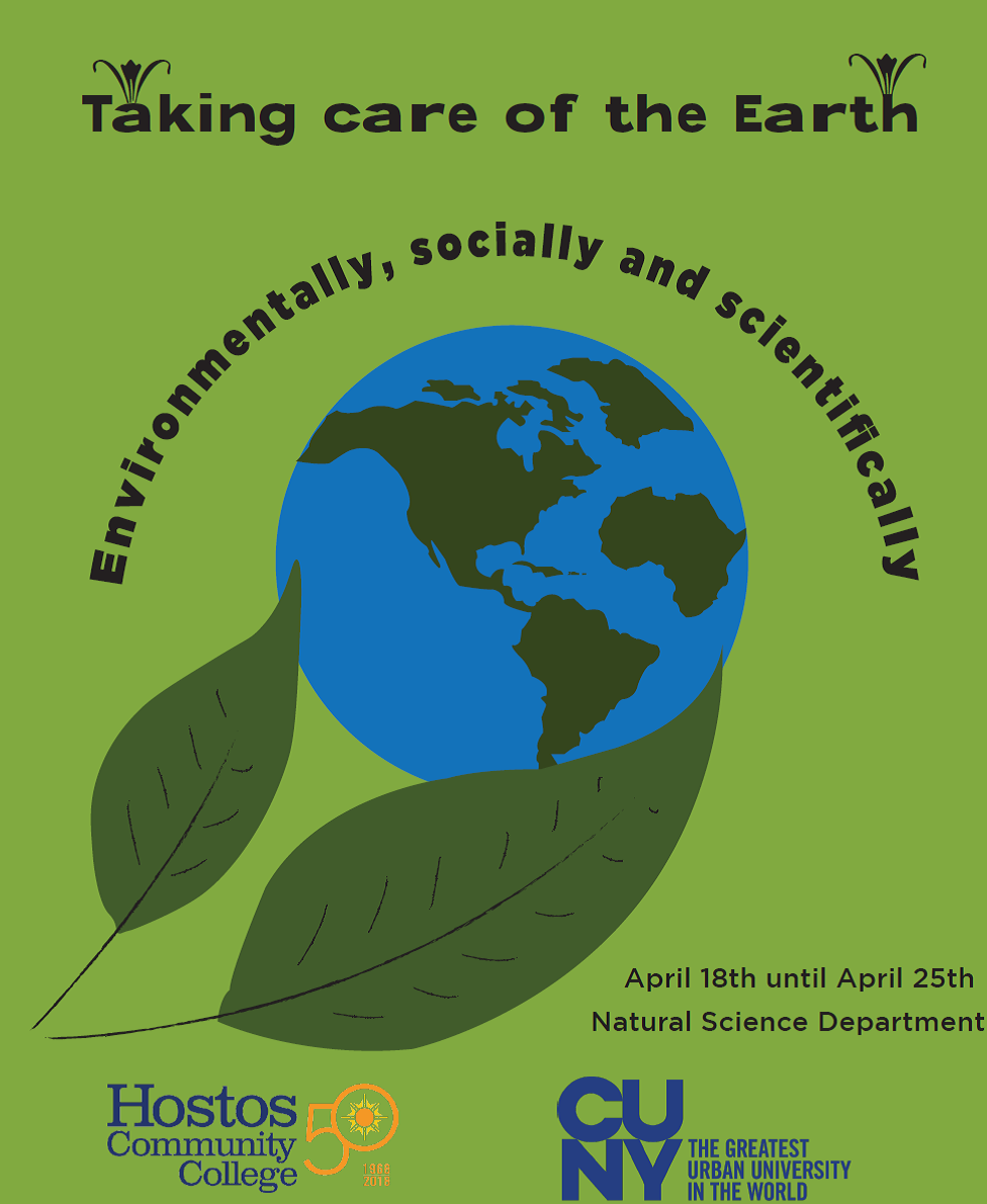 Hostos Earth Day 2018 graphic