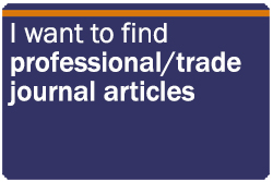 I want to find professional/trade journal articles