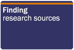 Finding research sources