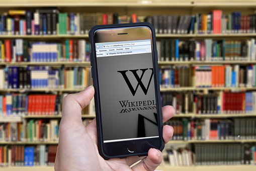 wikipedia on cell phone