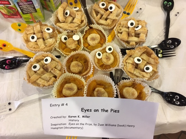 Eyes on the Pies
