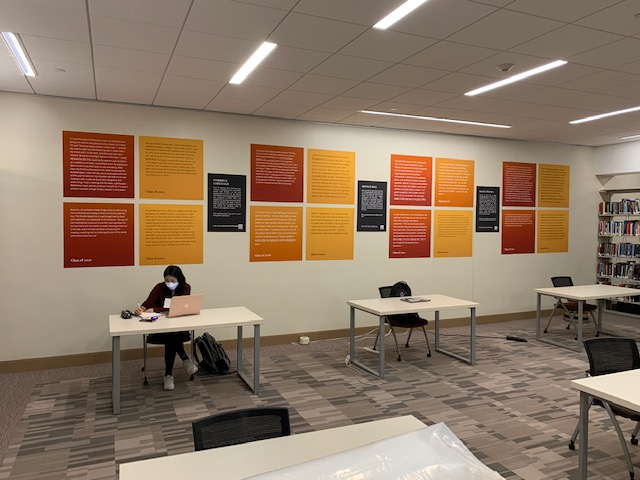 Social Work Library installation
