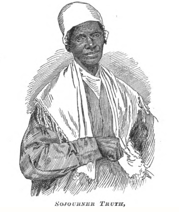 Sojourner Truth drawing