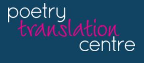 Poetry Translation Centre logo