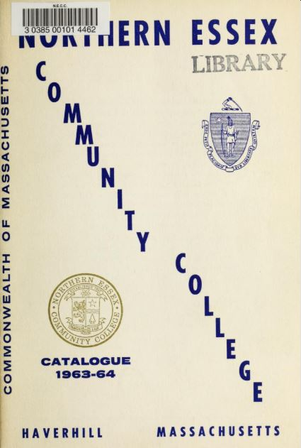 cover of 1963-64 academic catalog