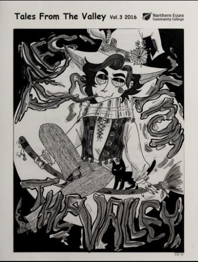 Black and white cover of Tales from the Valley