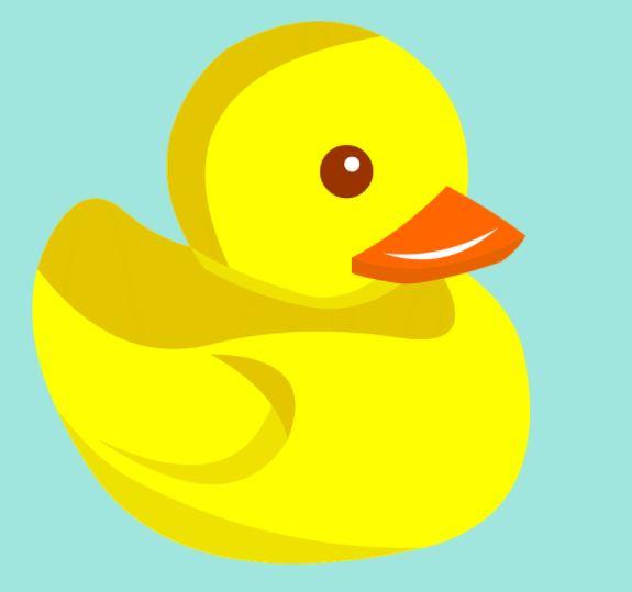 You found a hidden rubber duck!