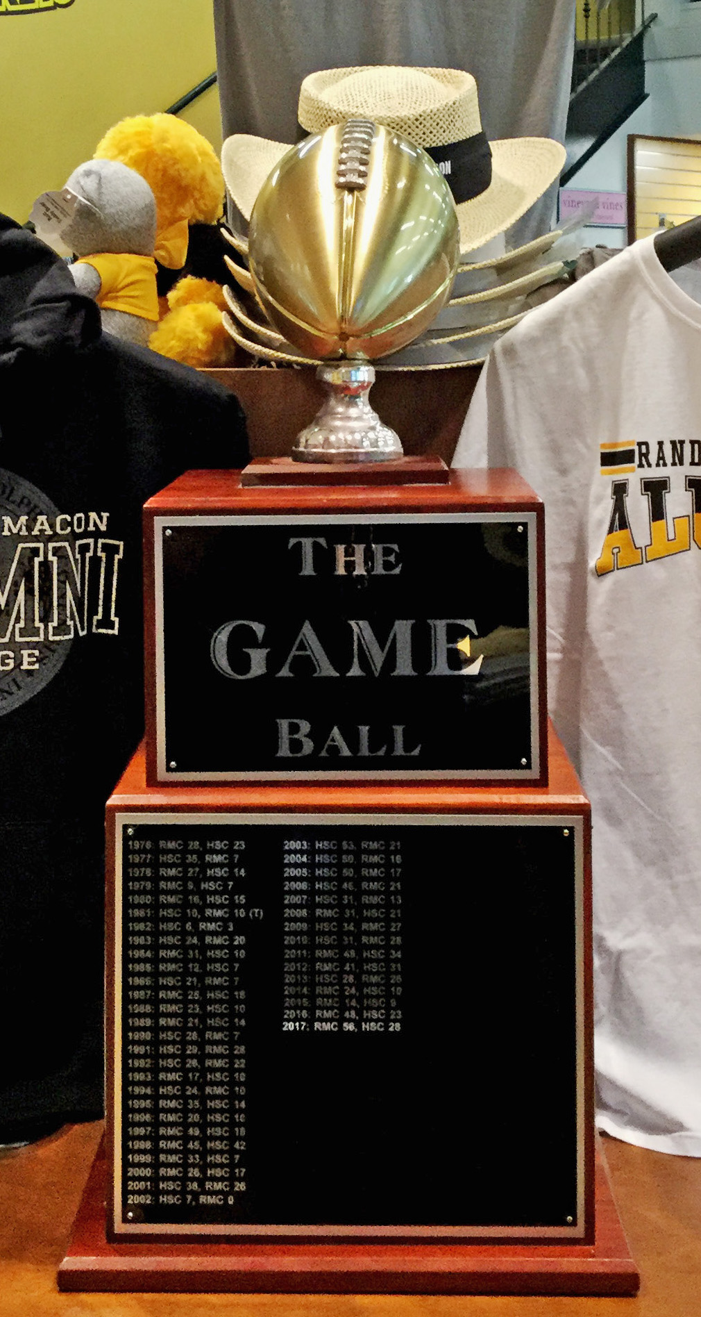 The Game trophy