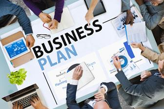 People forming a business plan
