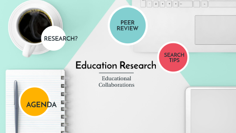 Screenshot from Education Research Prezi
