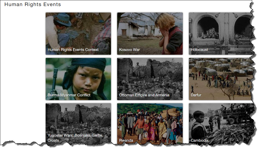 homepage image of Human Rights Events