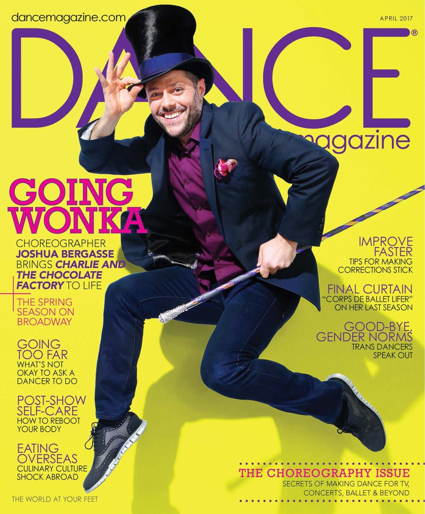 Dance Manazine cover