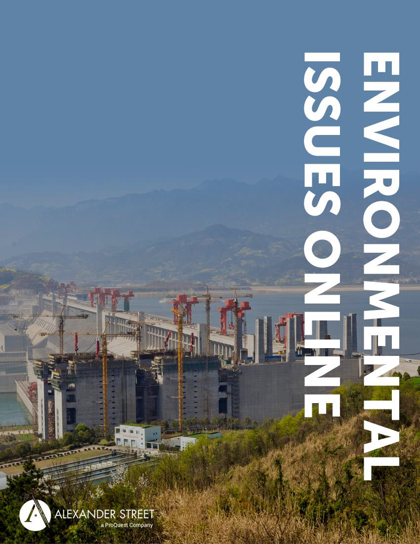 Environmental Issues Online brochure cover