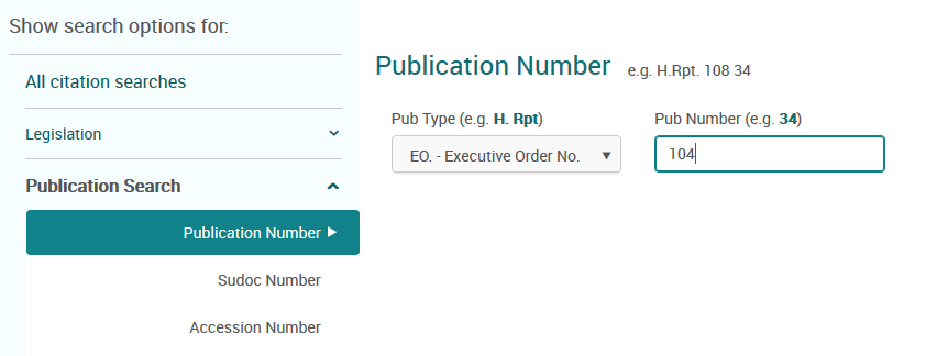 search by publication number