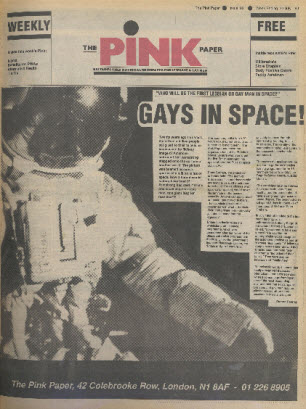 Pink Paper, July 22,1989