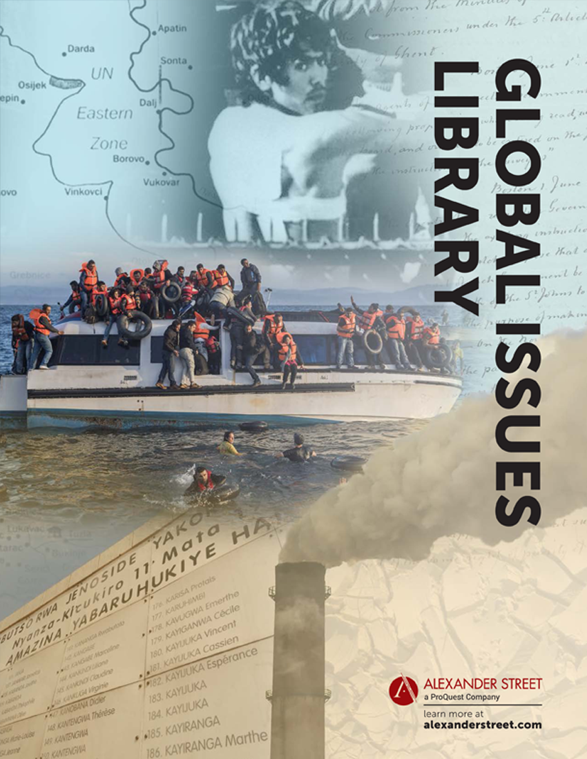Global Issues Library product brochure cover