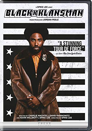 BlacKkKlansman DVD cover