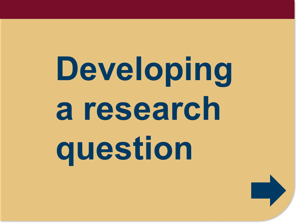 develop a research question