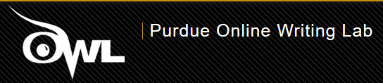 Click here to acccess the Purdue Owl website