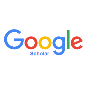 Google Scholar logo; blue, red, yellow and green letters spelling out Google Scholar