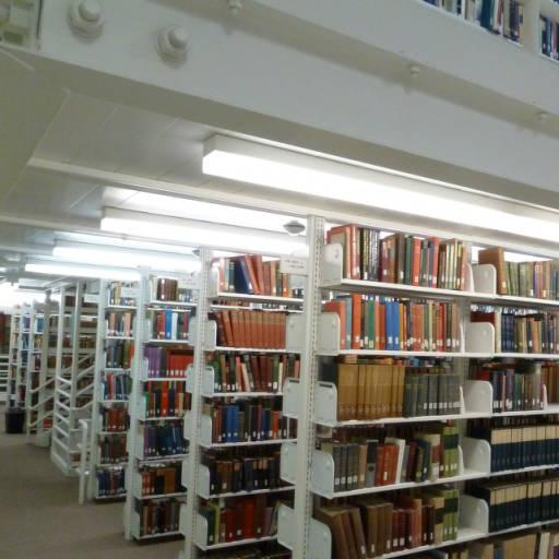 Multi-tier stacks, Honnold Mudd Library