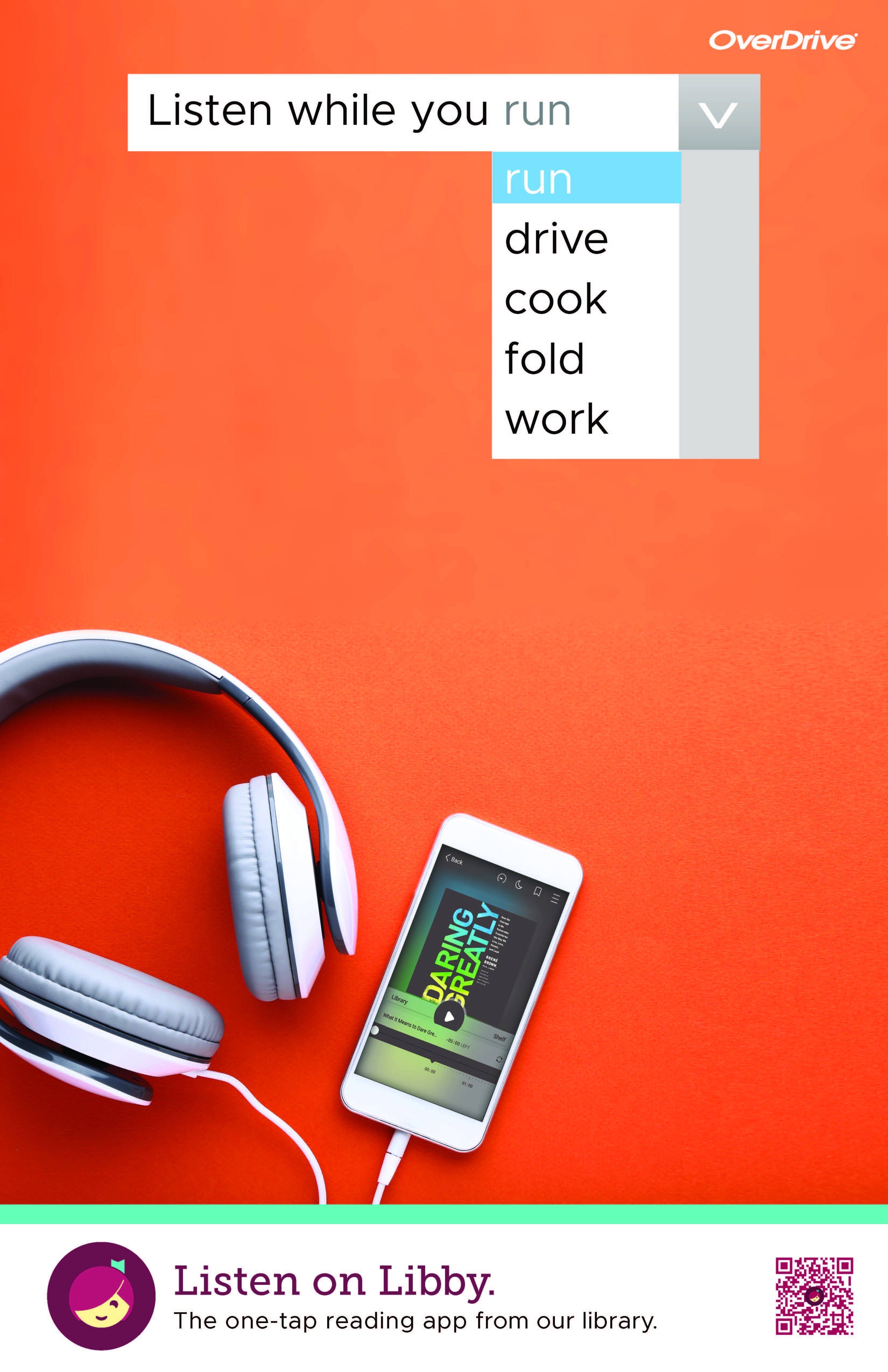 Listen to audiobooks with OverDrive
