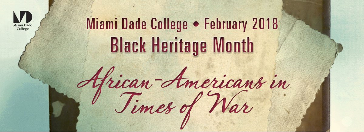 Black Heritage Month: African-Americans in Times of War