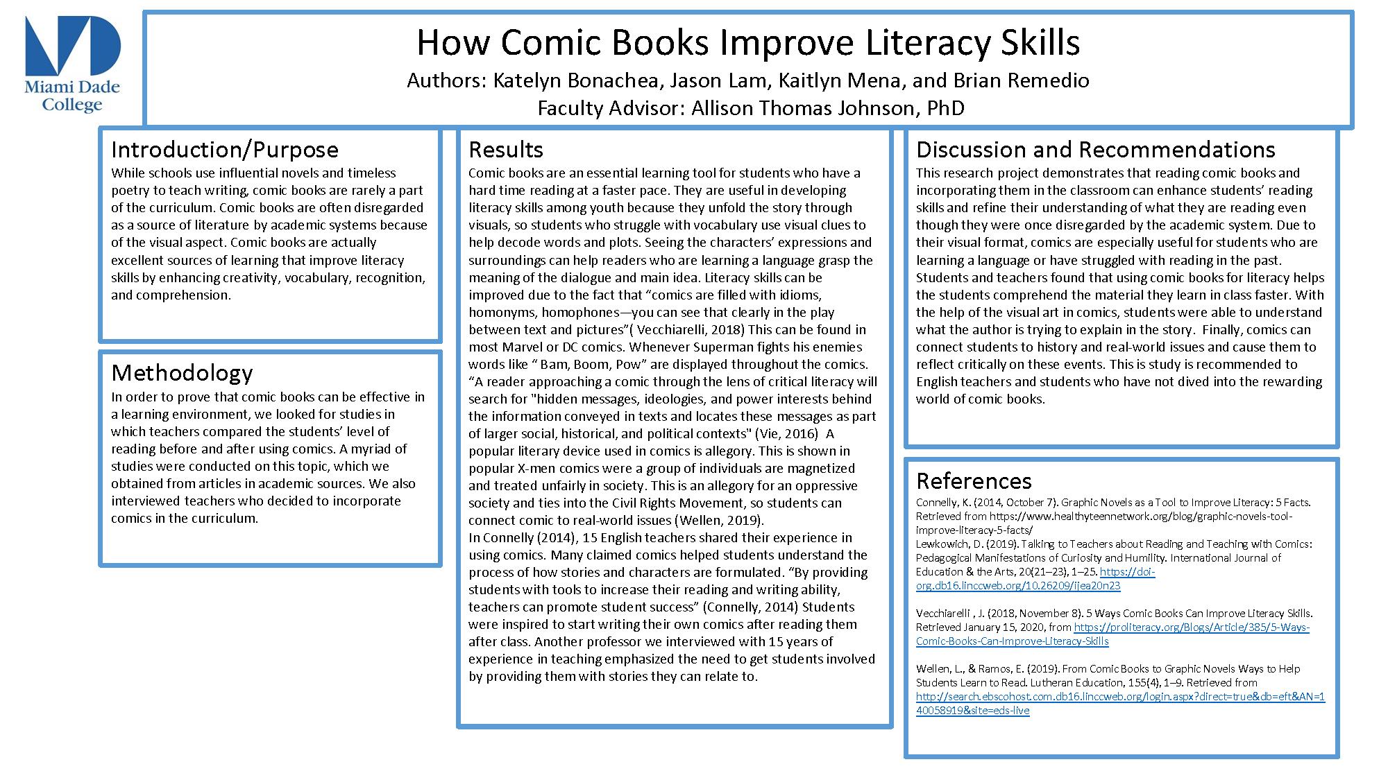 How Comic Books Improve Literacy Skills