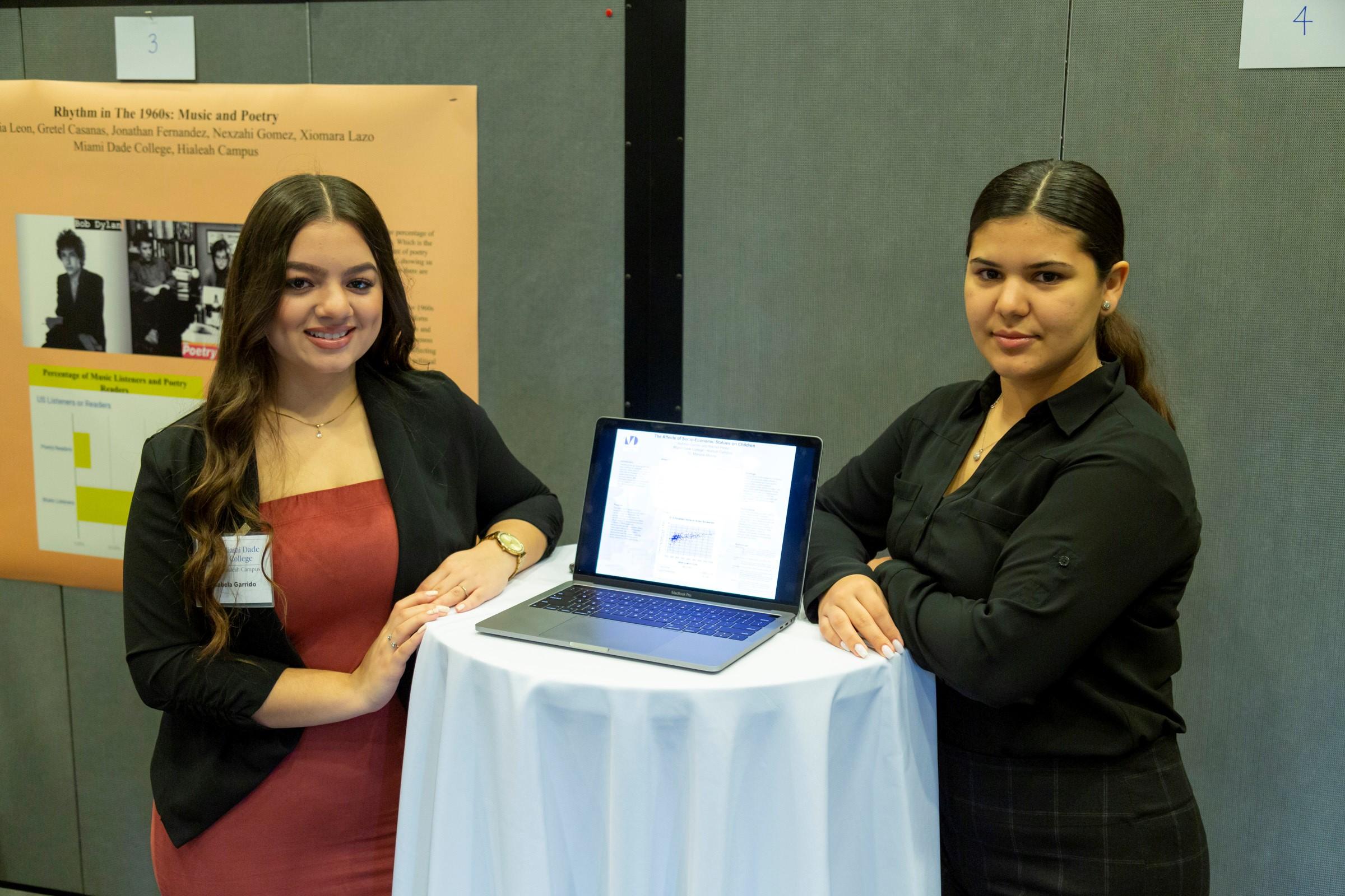 Students at the 2020 Student Interdisciplinary Symposium