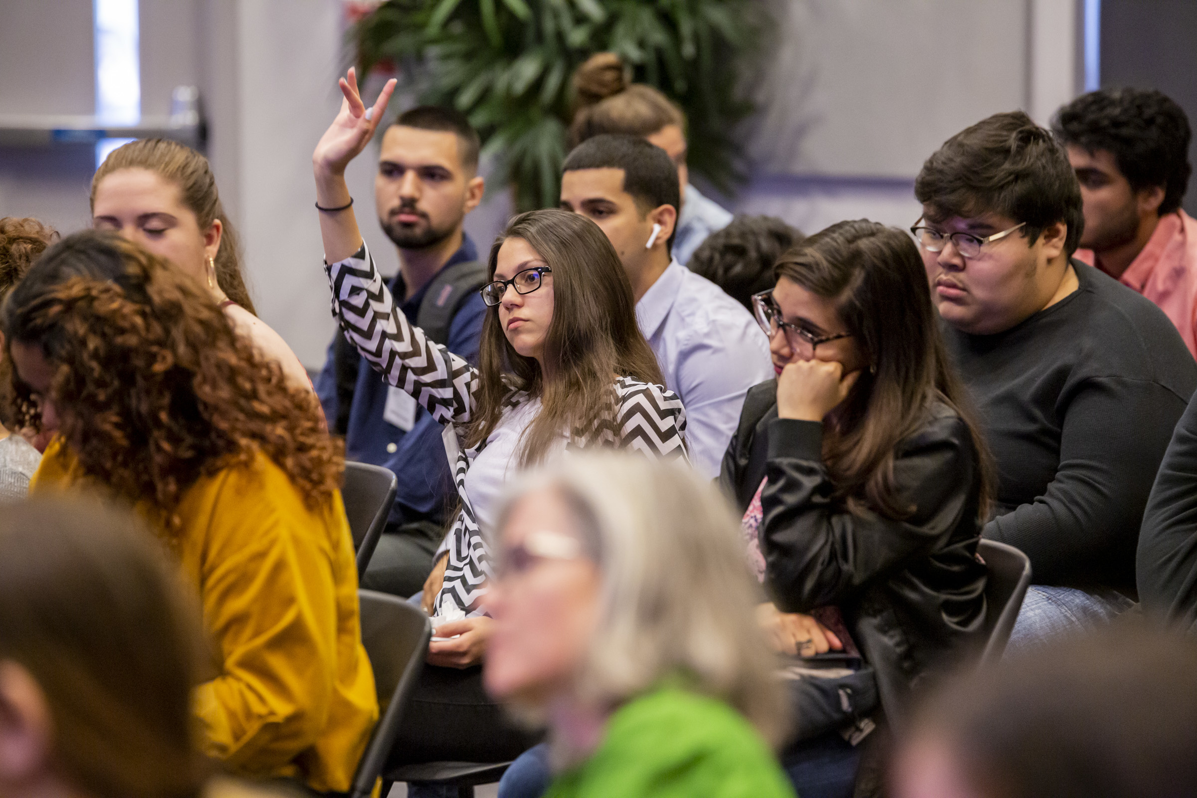 Students at the 2019 Student Interdisciplinary Symposium