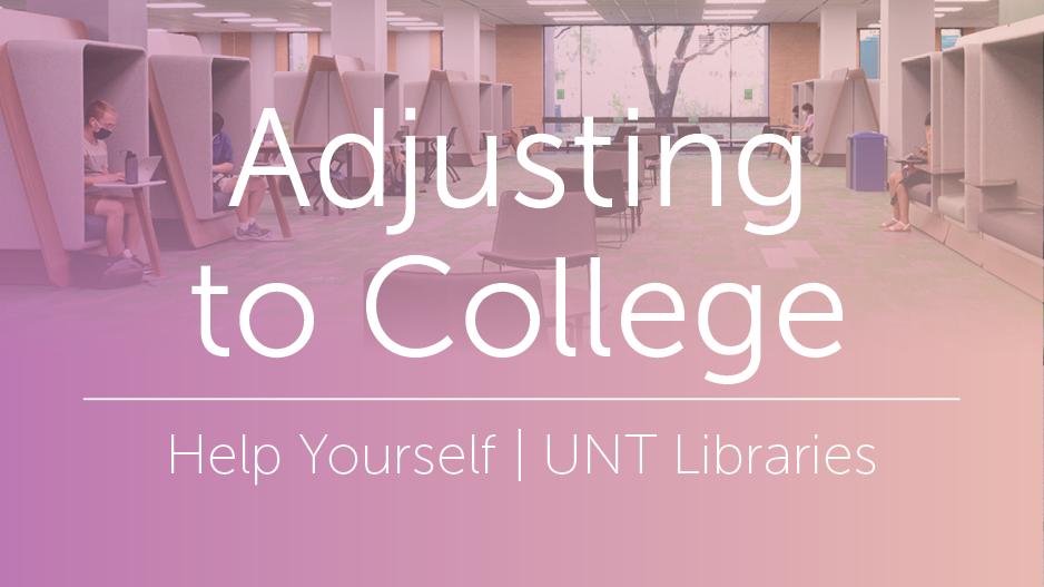 Adjusting to College