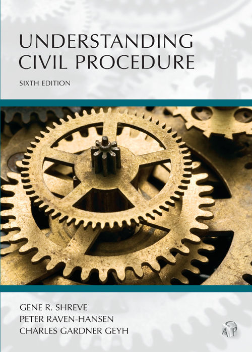 "Cover Image: Text, ""Understanding Civil Procedure"" from the LexisNexis Digital Library"