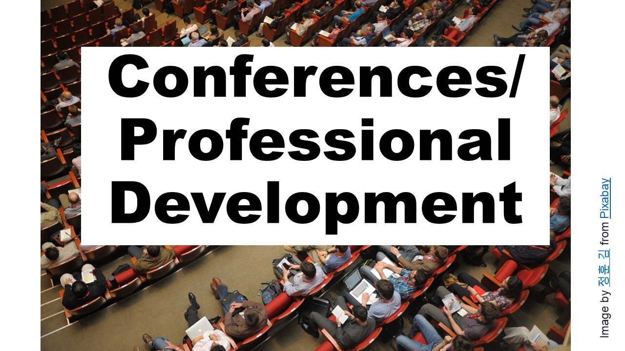 Conferences and Professional Development Page