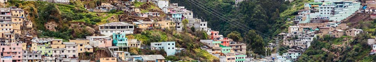 photo of houses on a hillside