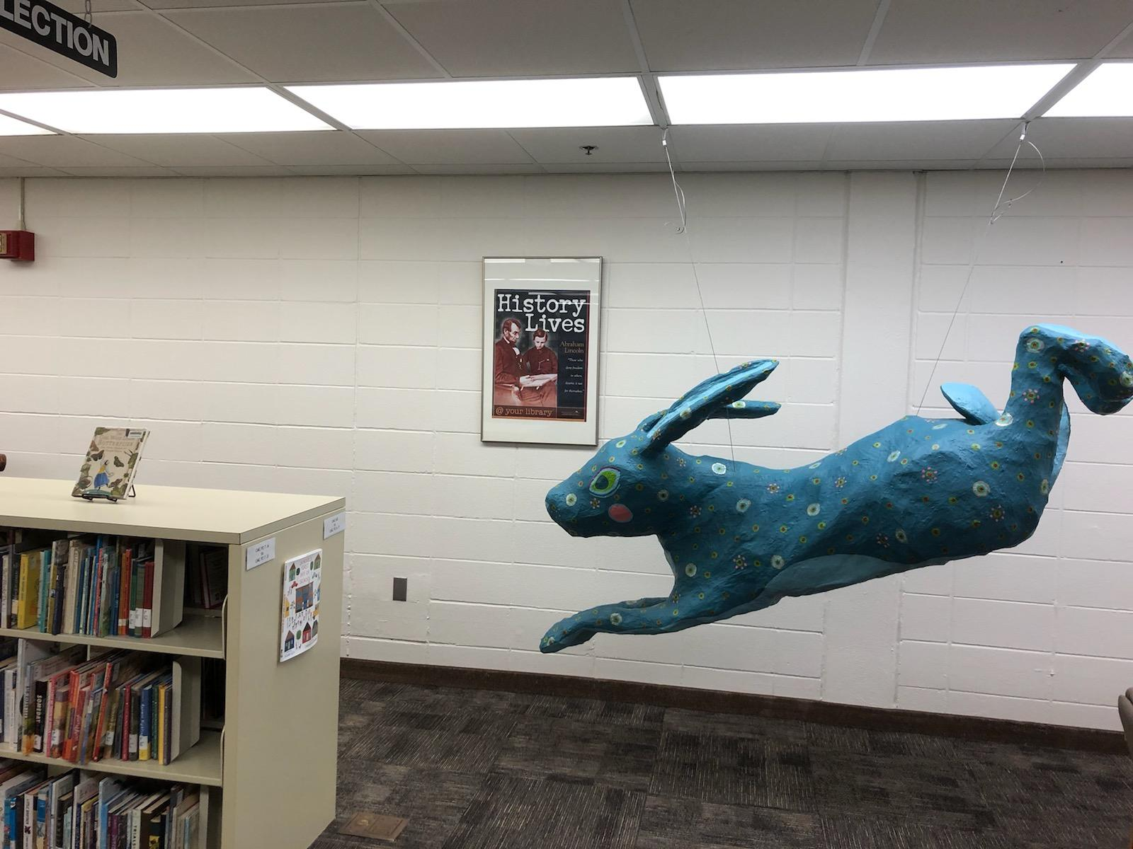 Bunny Sculpture in CMC section