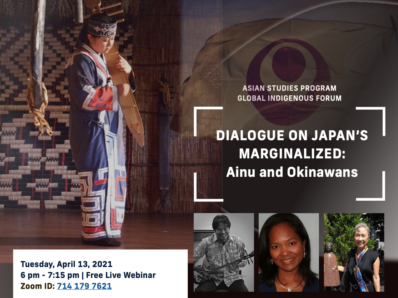 Dialogue on Japan's Marginalized: Ainu and Okinawans by Florida International University