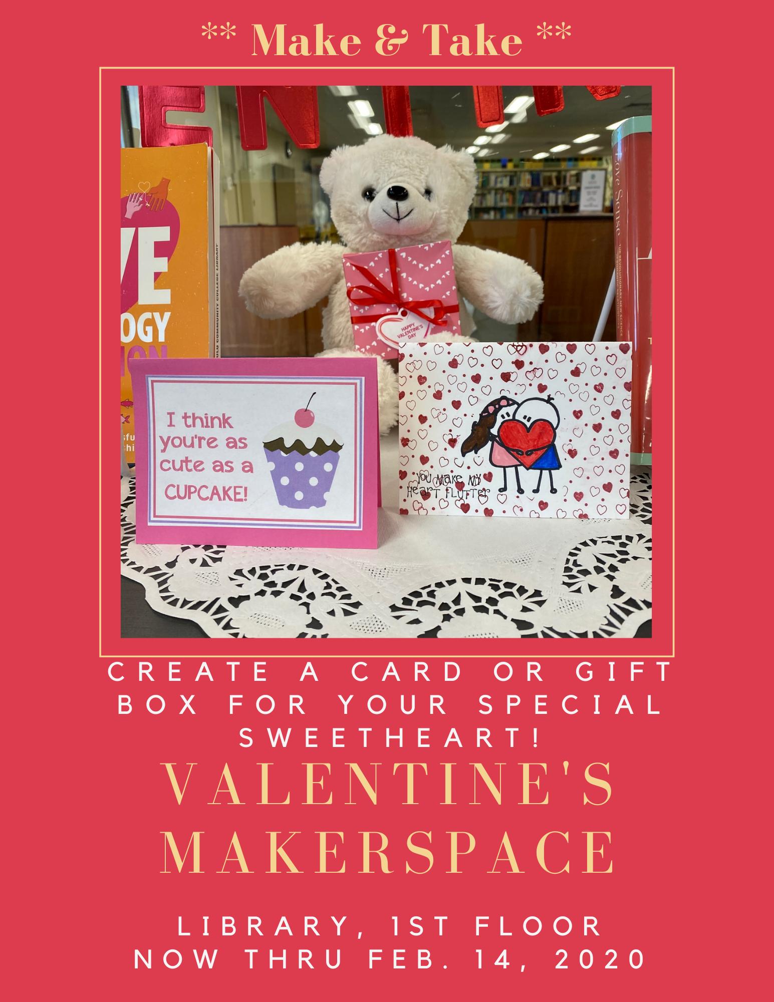 Library Valentine's Flyer