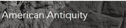 American Antiquity