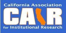 California Association for Institutional Research